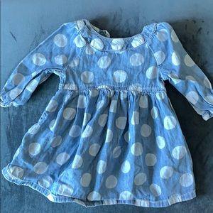 Baby gap dress soft denim